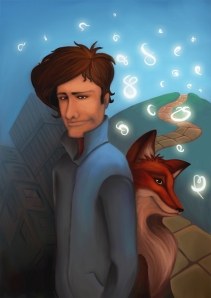Sebastian and the fox.