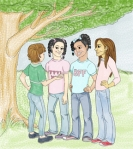 Girls illustration Iustracion chicas