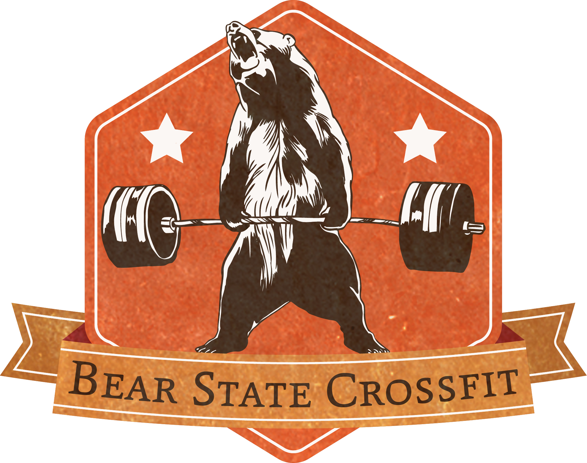 bear weights vector logo