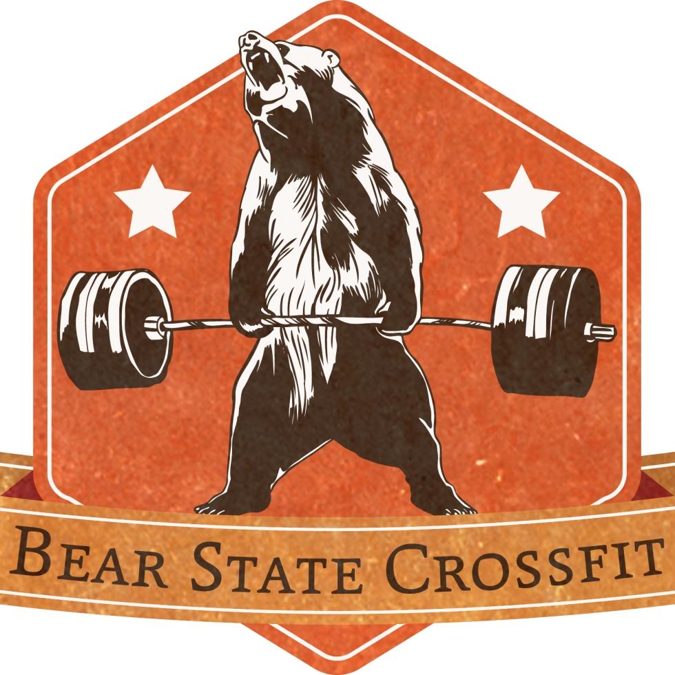 bear weights vector logo