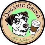 organic grind coffee logo