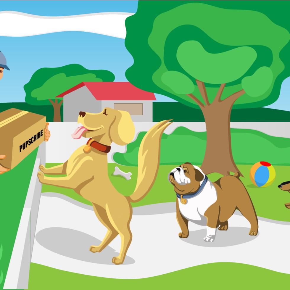 Pet Illustration vector