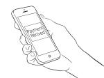 cellphone illustration